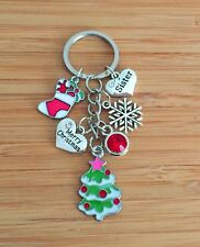 Christmas gift keyrings for Mum,Daughter,Friend,Son,Dad, Nan,Sister - XMAS GIFTS