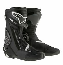 Alpinestars SMX Plus Black Motorcycle Boots, SMX-Plus NEW!