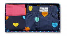 Happy Socks Heart Socks With Matching Boxers Gift Box Size 10-13