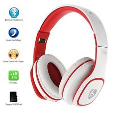 Foldable Wireless Bluetooth Stereo Headset Headphone +Mic FM MP3 for iPhone M3Q0