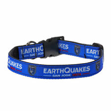 San Jose Earthquakes Logo Dog Collar - MLS