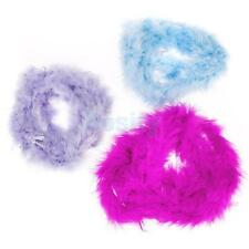 2m Feather Boa Fluffy Craft Home Decoration Princess Costume Party Favor Dressup