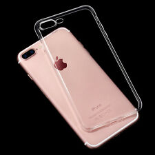 For iPhone 7/7 Plus Ultra Thin Slim Silicone Soft Back Case Skin Cover Clear TPU