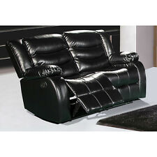 Meridian Gramercy Reclining Loveseat with Plush Pillow Arms