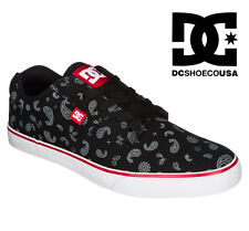 DC SHOES YOUTH TONIK SP trainers BLACK WHITE TRUE RED BWU skate mx vans EURO 38