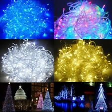 100/200/400/500 LED Electric/Battery String Fairy Lights  Xmas Christmas Party