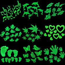 Home Wall Glow In The Dark Stickers Star Baby Kid's Bedroom Nursery Room BBCA