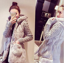 Winter Women Coat Thicken Warm Coat Hooded sweater Parka Overcoat Jacket