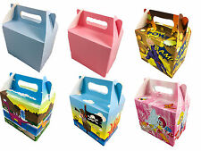 Themed Party Gift Boxes Dinosaurs princess Super Hero Pirates Childrens Party