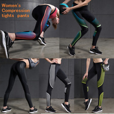 Womens Sport Compression Tights Fitness Pants Running Yoga Gym Shaping Up Hips