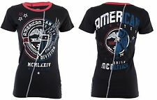 American Fighter AFFLICTION Womens T-Shirt ELIZABETHTOWN Biker UFC Sinful $40