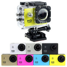 6 Colors Waterproof Sports DV DVR 1080P HD Video Action Outdoor Camera Camcorder