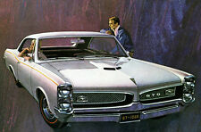 1967 Pontiac GTO - Promotional Advertising Poster