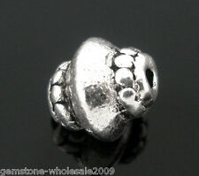 Wholesale Lots Silver Tone Ornate Spacer Beads 5*7mm