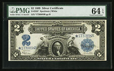 Fr. 258* $2 1899 SILVER CERTIFICATE *STAR* CHOICE UNCIRCULATED 64PPQ