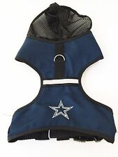 Dallas Cowboys Dog Harness NFL Football Officially Licensed Pet Product
