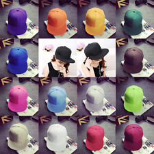 Unisex Fashion Hat Trendy Korean Hip-Hop Baseball Cap Flat-brimmed Hat O6