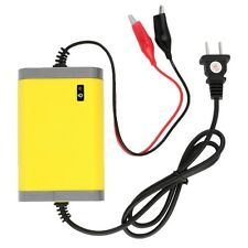 LED 12V 6A 2A Portable Intelligent Auto Car Motorcycle Lead Acid Battery Charger