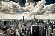 3 Panel Photo NYC New York Skyline Photographic Print on Wrapped Canvas