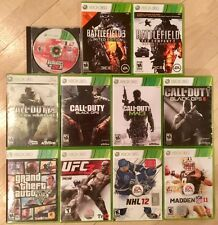 Video Games for Xbox 360 (CHOOSE FROM LOT Call of Duty, GTA, Battlefield, MORE!)