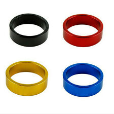 2x 10mm Aluminum Mountain Road Bike Bicycle Cycling Headset Stem Spacers