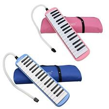 32 Piano Keys Melodica Musical Instrument for Music Lovers Gift with Bag H5Y1