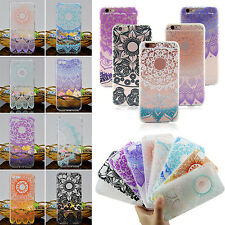 SUP Rubber Soft TPU Silicone Phone Back Case Cover Apple iPhone 5 6 6s 7 Plus
