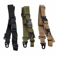 Outdoors Airsoft Rifle Strap 3 Point Paintball Ajustable Tactical Sling