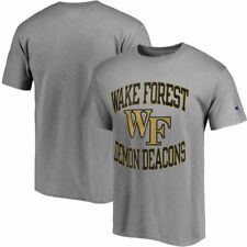 Wake Forest Demon Deacons Champion Tradition T-Shirt - Gray - NCAA