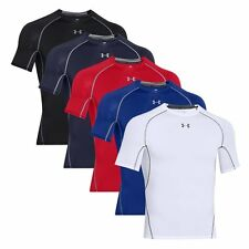 Under Armour HeatGear Mens Armour Compression Short Sleeve Top