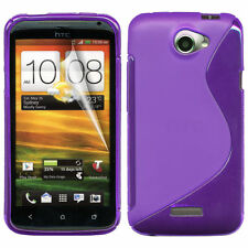 New! Bumper Flexi Soft TPU Silicone Gel Case cover for HTC Mobile Phones