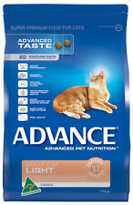 Advance Adult Light Chicken Dry Cat Food  1.5kg
