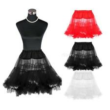 "18"" Mini Rock Roll Petticoat Short Underskirt for TUTU Skirt Prom Party Fancy"