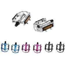 Mountain Road Bike Pedals Sealed Bearing Bicycle Flat Pedal with Light Reflector