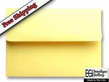 Yellow Pastel Envelopes for Invitations Showers Photos Weddings A1 A2 A6 A7