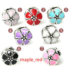Fashion Mixed Colors Enamel Metal Stopper Clip Beads Fit European Charm Bracelet