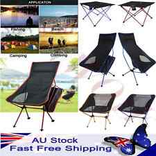 Foldable Fishing Chair Portable Moon Chair Folding Table Hiking Camping Seat