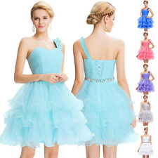 Short Mini Ball Party Cocktail Homecoming Dress Evening Prom Tulle Layers Dress