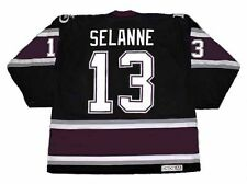 TEEMU SELANNE Anaheim Mighty Ducks 2005 CCM Vintage Alternate NHL Jersey