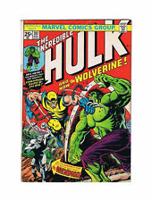 Hulk  #181 180 and 271~ 7.0 1st wolverine - pictures coming soon