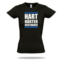 HART HARDER HERTHA BSC LADYSHIRT Fun and Fanshirt SHIRTCHARTS