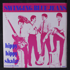 SWINGING BLUE JEANS: Hippy Hippy Shake / Good Golly Miss Molly 45 (France, re,