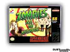Zombies Ate My Neighbors Super Nintendo SNES Game Case Box Professional Quality!