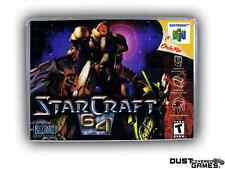 Starcraft 64 Nintendo 64 N64 Game Case Box Professional Quality!!!