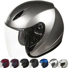 Gmax GM17 Open Face Scooter Street Riding DOT Motorcycle Helmets
