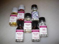 LorAnn Flavoring Oils 1 Fl Dram Bottle Gourmet Candy Flavoring Extract #A1