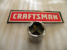 """NEW CRAFTSMAN 3/8"""" Drive Dr - METRIC mm  SOCKET 6 Pt Point 6pt - ANY SIZE"""