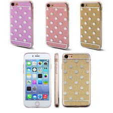 Dots Pattern Back Protective Mobile Phone Hard Case Cover for iPhone 7