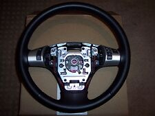 2005-2011 C6 Corvette Genuine GM Manual Steering Wheel Black - Black stiching
