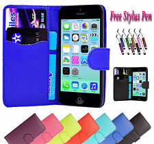 Magnetic Wallet Flip Pu Leather Case Cover Holder Stand Fits Apple iPhone 7